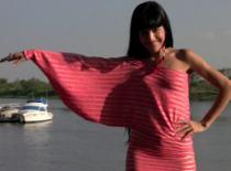 Jak zrobić sukienkę z jednym rękawem