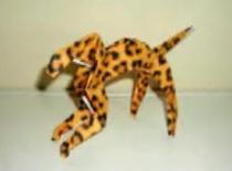Jak złożyć geparda z papieru