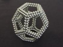 Jak zrobić ramkę dwunastościanową z kulek magnetycznych