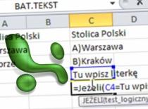 Jak zrobić quiz w Excelu