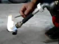 Jak zrobić palnik na zasadzie Air Guna #2