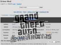 Jak zainstalować Driver Mod do GTA San Andreas