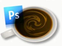 Jak zrobić gorącą czekoladę - Photoshop