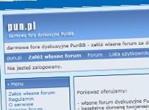 Jak założyć i obsługiwać forum na pun.pl #1