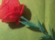 Jak wykonać różę z bibuły