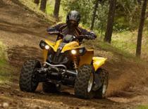 Jak prawidłowo wytyczać krótkie drapki - technika jazdy ATV