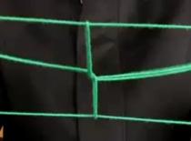 Jak zrobić gąsienicę poruszającą się na sznurku