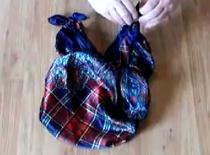 Jak zrobić torebkę Furoshiki