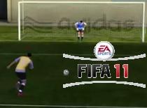 Jak strzelać w FIFA 11 #1