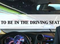 "Jak korzystać ze stwierdzenia ""to be in the driving seat"""