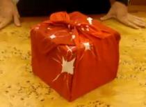 Jak zapakować prezent w pudełku