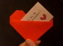 Jak zrobić serduszko z karteczką