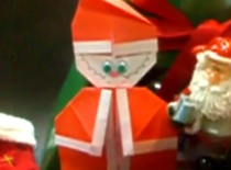Jak zrobić Mikołaja z papieru
