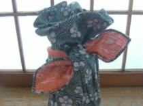 Jak zapakować butelkę na prezent w stylu Furoshiki