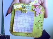 Jak zrobić kalendarzyk 2011