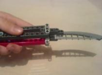 Jak zrobić składany nóż Lego
