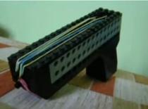 Jak zrobić realistyczny pistolet z lego na gumki