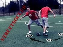 Jak grać w streetsoccer - nauka trików i podstawowe zagrania #1