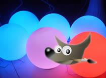 Jak zrobić świetlną kulę w Gimpie