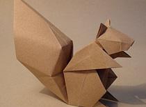 Jak zrobić wiewiórkę origami