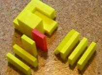 """Jak zrobić """"rogatkę"""" pozwalająca wykonać zakręt o 90 stopni w domino"""