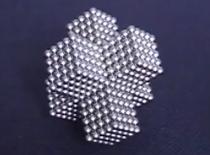 Jak zrobić bryłę krzyżową z kulek magnetycznych