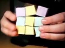 Jak zrobić zabawkę z kolorowych karteczek