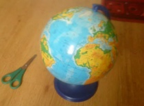 Jak zrobić skrytkę z globusa