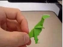 Jak zrobić dinozaura origami