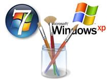 Jak w korzystać w Windows 7 ze starego Paint'a z Windows XP