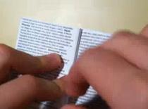Jak zrobić ściągę w fomie małej książeczki ze spisem treści