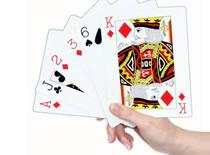 Jak zgadnąć kartę widza używając zwykłej talii