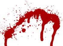 Jak zrobić napis na krwawm tle