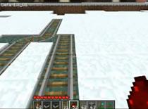 Jak stworzyć zwrotnicę torów w Minecraft