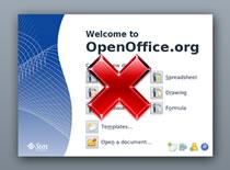 Jak wyłączyć ekran powitalny w OpenOffice