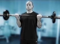 Jak ćwiczyć biceps - uginanie ramion ze sztangą na stojąco