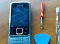Jak rozebrać i złożyć telefon Nokia 6300