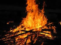 Jak zrobić płomień w worku