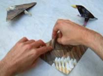 Jak złożyć samolot z papieru - Eagle