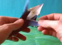 Jak złożyć ptaka z papieru - Tukan