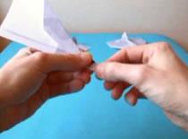 Jak złożyć samolot z papieru - wojskowy odrzutowiec