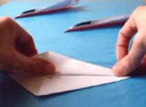 Jak złożyć samolot z papieru - odrzutowiec