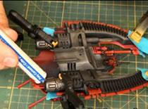 Jak pomalować model Eldar Falcon 2/2