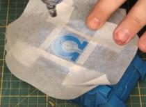 Jak namalować logo na modelu