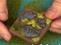 Jak zrobić podstawkę do figurki - Skałki