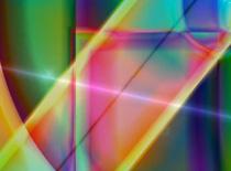 Jak zrobić wielokolorową tapetę z motywem załamania światła