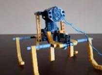 Jak zrobić 4-nożnego robota z klocków Lego Technic