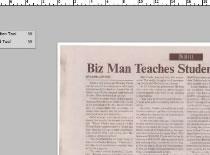Jak zrobić efekt pogniecionej gazety