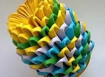 Jak zrobić kurczaka lub pisankę origami 3D