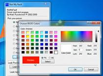 Jak zmienić kolor tła i liter w Blue Screen